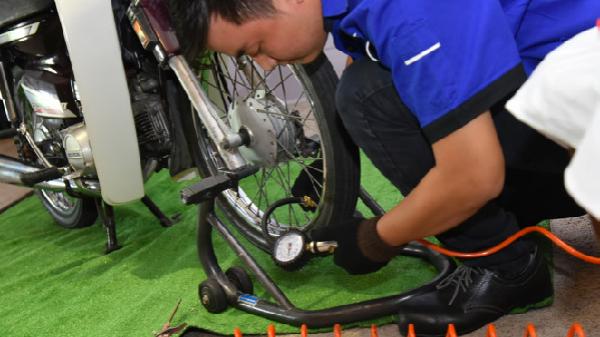 Ngày hội chăm sóc xe máy miễn phí tại Nha Trang
