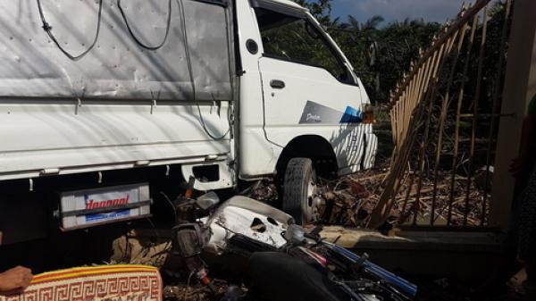 Nha Trang: Xe tải mất lái  tông hai vợ chồng thương vong