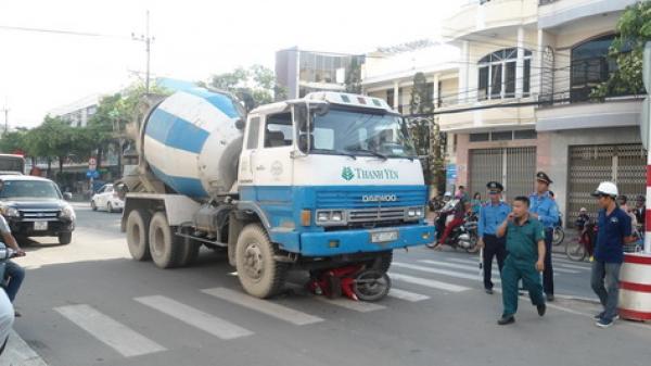 Nha Trang: Va chạm xe trộn bê tông, người đàn ông thoát chết hy hữu