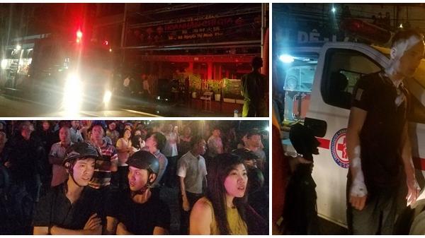 Cháy nổ bình ga tại nhà hàng ở Nha Trang