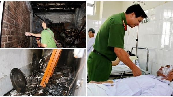 Vụ cháy nhà hàng ở Nha Trang: Hai chiến sĩ chữa cháy bị bỏng độ 2, độ 3