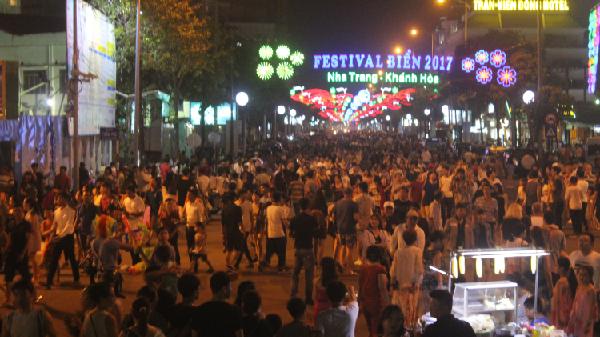 Festival Biển Nha Trang 2017 thu hút 120.000 lượt du khách