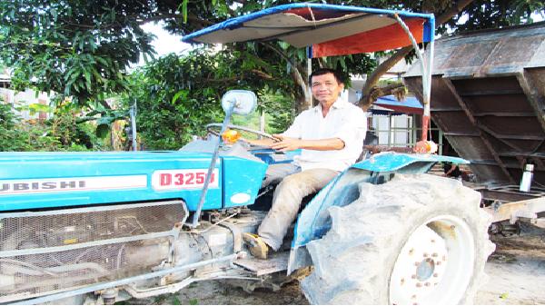 Nông dân Khánh Hòa tự tay chế tạo máy sản xuất nông nghiệp