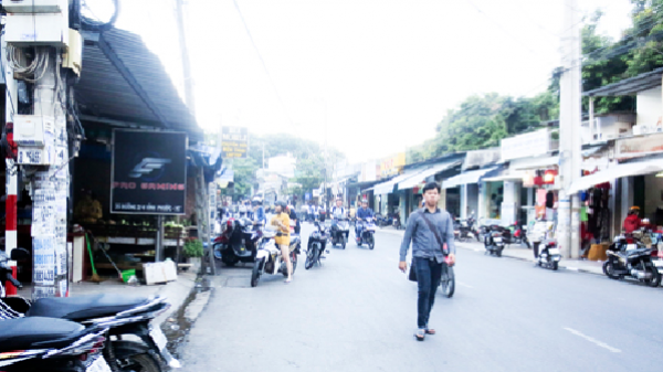 Nha Trang: Bất tiện từ những tuyến phố không có vỉa hè