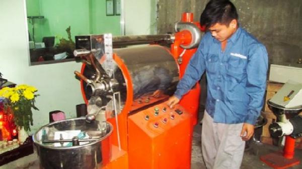 Cải tiến thiết bị chế biến cà phê ở huyện Diên Khánh, Khánh Hòa).