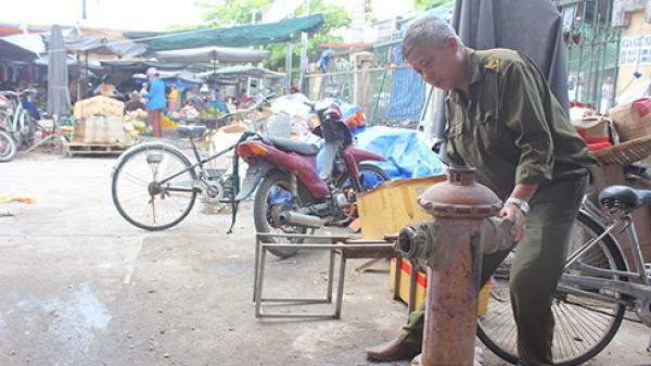 Chợ hạng 3 ở Nha Trang: Thiếu hệ thống phòng cháy, chữa cháy