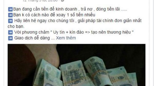 Nha Trang: Cắt giấy vở làm tiền giả rao bán facebook để lừa người