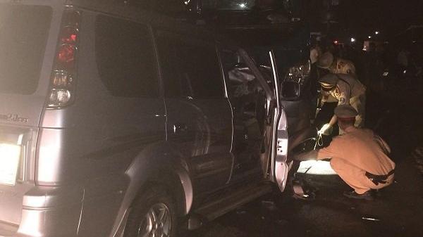 Tài xế xe tải trú Khánh Hòa đấu đầu ô tô, Trung tá trưởng công an thị trấn thiệt mạng