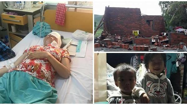Ninh Hòa: Thảm cảnh gia đình thai phụ nguy kịch vì tai nạn giao thông