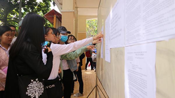 Điểm chuẩn trúng tuyển các trường đại học tại Khánh Hòa