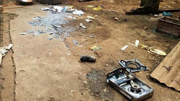 Đắk Lắk: Có vết thuốc nổ trong vụ nghi nổ bình gas, 2 thiếu niên trọng thương