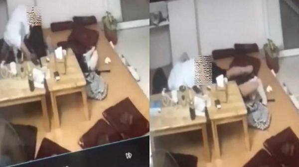 Sốc: Cặp đôi tình nhân ngang nhiên quan hệ tại quán trà sữa bị nhân viên bắt tại trận