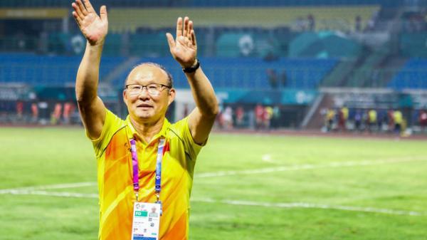 Trong phòng thay đồ, thầy Park nói 1 câu hùng hồn giúp Olympic Việt Nam làm nên lịch sử tại Asiad 2018