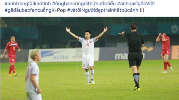 """""""Mặn"""" như """"Quàng tử"""" Đức Huy của Olympic Việt Nam: tự nhận mình đẹp trai nhất, gọi Văn Toàn là """"gã đầu bạc fan cuồng Kpop"""""""