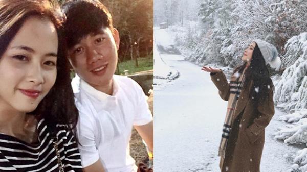 Bạn gái sống ở Mỹ xinh đẹp của cầu thủ Minh Vương quê Thái Bình