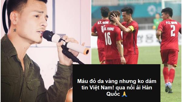 Mỉa mai U23 Việt Nam bại trận trước Hàn Quốc - Hoa Vinh khiến cộng đồng mạng dậy sóng