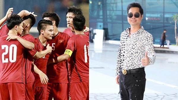 Ngọc Sơn sang tận Indonesia cổ vũ, treo thưởng số tiền khủng cho Olympic Việt Nam từng bàn thắng