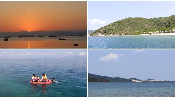Khánh Hòa: Tránh nóng ở đảo hoang vịnh Vân Phong
