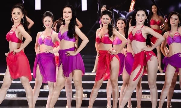 """Đã mắt với màn trình diễn bikini của thí sinh HHVN, công bố Top 25 nhiều nàng """"lép"""" mà xinh!"""