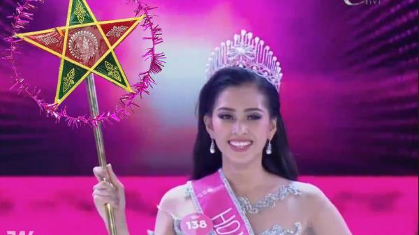 Vẫn những câu hỏi nhỏ: Chiếc quyền trượng quyền lực của Tân Hoa hậu Việt Nam 2018 giống cái gì?