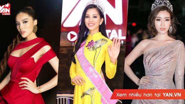 Hoa hậu Việt Nam khoe giọng hát ngọt ngào, Kỳ Duyên, Mỹ Linh, Tiểu Vy, ai hát hay hơn ai?