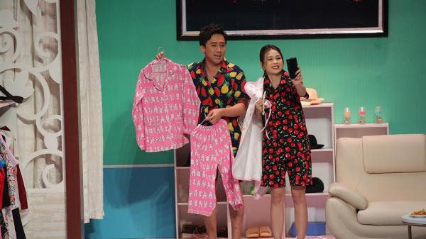 Trổ tài bán hàng online, Trấn Thành cùng hot girl Sam bị khách mắng sấp mặt