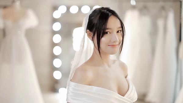 """Cận cảnh hình ảnh Nhã Phương """"đẹp đến nao lòng"""" trong mẫu váy cưới mới nhất được hé lộ"""