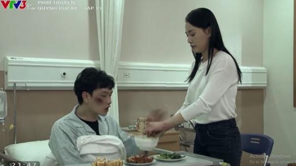 Mặc kệ lời khuyên ngăn của Cảnh, Quỳnh chuyển từ đi khách sang làm ô sin