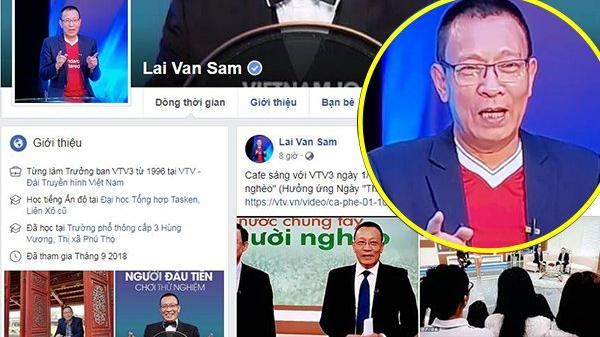 Bị giả mạo suốt bao năm qua, cuối cùng nhà báo Lại Văn Sâm đã có Facebook chính chủ
