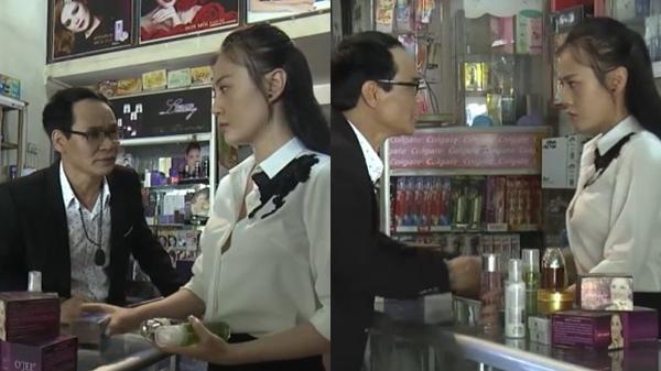 Trốn khỏi Thiên Thai, Quỳnh chuyển sang bán mỹ phẩm vẫn bị khách già gạ gẫm, sàm sỡ tái mặt