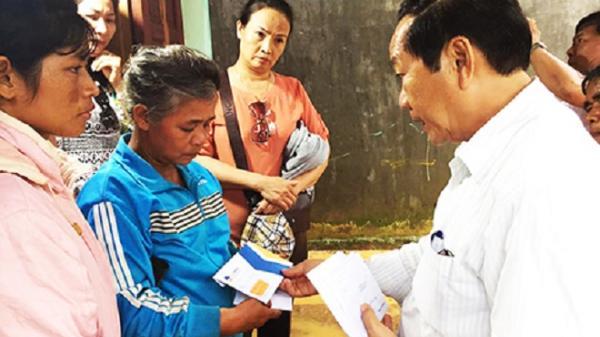 Hỗ trợ các gia đình trong vụ nổ ở Khánh Sơn 24 triệu đồng