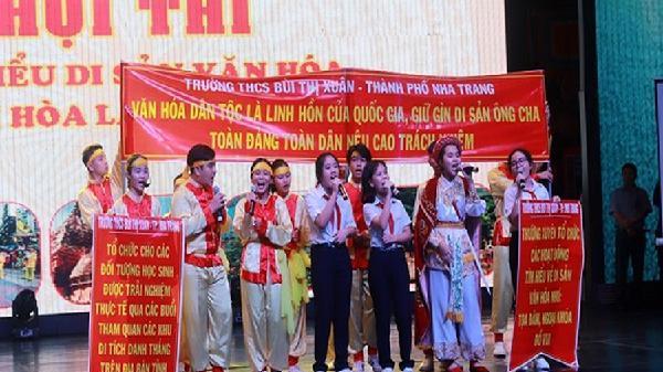 Khánh Hòa: Thế hệ trẻ chung tay gìn giữ bảo vệ di sản