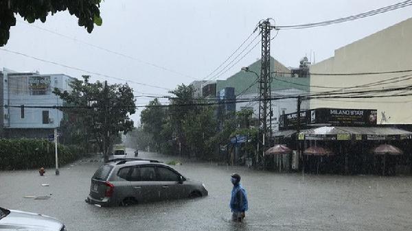 Miền Trung tiếp tục mưa lớn