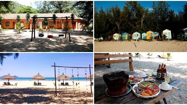 Khánh Hòa: Khu cắm trại nhiều màu sắc ở biển Đại Lãnh