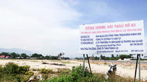 Bến xe liên tỉnh phía Nam TP. Nha Trang: Sẽ xây dựng trong năm 2018