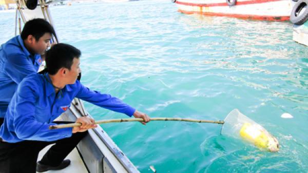 Nha Trang: Tăng cường thu gom, xử lý rác thải ở vùng ven biển