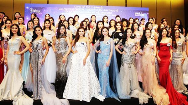 Từ ngày 25/10 đến 4/11, tại Nha Trang: Bán kết cuộc thi Hoa hậu Hoàn vũ Việt Nam 2017