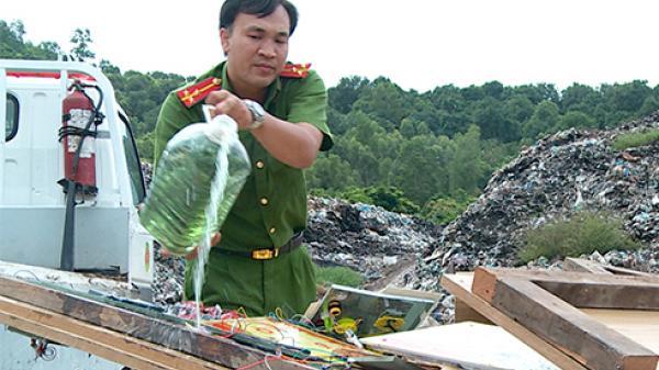 Diên Khánh: Tiêu hủy 13 máy game bắn cá không rõ nguồn gốc