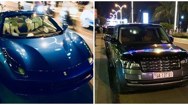 Range Rover và Ferrari gần 30 tỷ lăn bánh tại Nha Trang