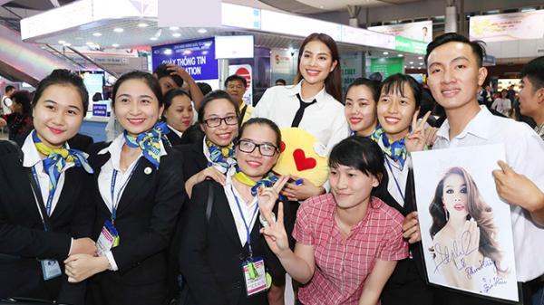 Phạm Hương ra Nha Trang làm MC bán kết Hoa hậu Hoàn vũ