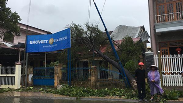 Diên Khánh: 1 người chết, 218 nhà bị sập