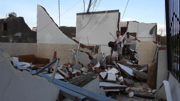 Khánh Hòa: Xin hỗ trợ 2.855 tỷ đồng để khắc phục khẩn cấp thiệt hại do bão