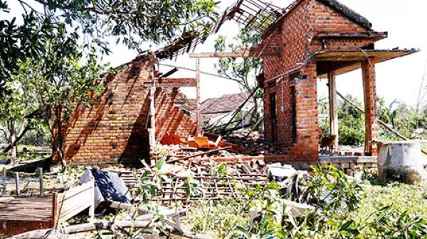 Khánh Hòa ghi nhận 2.554 căn nhà bị sập do bão