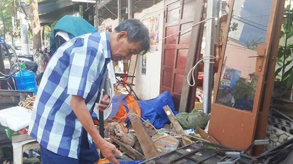 Khánh Hòa: Phường đã cho sửa lại nhà sập sau bão