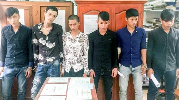Nha Trang: Bắt nhóm 9X lên Facebook hẹn đánh nhau