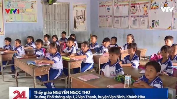 Món quà lớn nhất trong ngày 20/11 ở vùng thiệt hại do bão… là cả thầy và trò vẫn theo kịp chương trình học