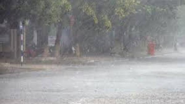 Ngày 1 và 2/12, toàn tỉnh Khánh Hòa có mưa vừa đến mưa to