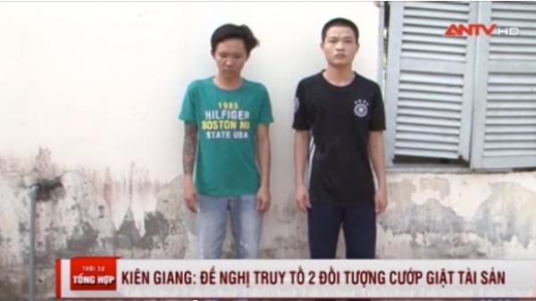 Giồng Riềng (Kiên Giang): Đề nghị truy tố 2 đối tượng cướp giật tài sản