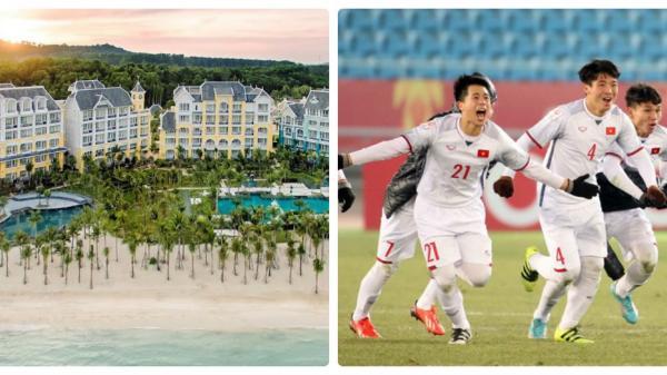 U23 Việt Nam được Tập đoàn Sun Group mời  nghỉ dưỡng xả hơi một tuần tại JW Marriott Phu Quoc Emerald Bay – Kiên Giang