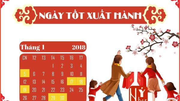Xem giờ tốt, hướng xuất hành, ngày đẹp mở cửa hàng đầu năm 2018